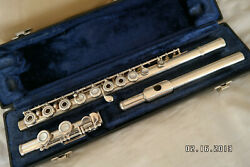 Armstrong 303 Flute-- Sterlingsilver Head