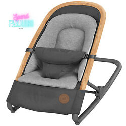 Maxi-cosi 2-in-1 Rocker 3 Seat Height Position Baby Infant Bounce Chair Gray New