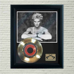 Sting Moon Over Bourbon Street Framed Record Display