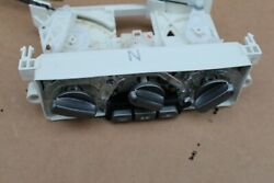 2003-2006 Mitsubishi Outlander Climate Control Heater Control Gray Grey Buttons