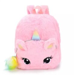 Backpack for kids: Unicorn Cute 3 D cartoon backpack for age 2 to 7 $11.99