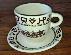 Westward Ho Cup And Saucer