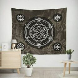 Witchcraft Tarot Hippie Wall Tapestry Hanging Throw Cover Home Room Decoration