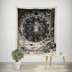 Witchcraft Star Hippie Wall Tapestry Hanging Throw Cover Home Room Decoration