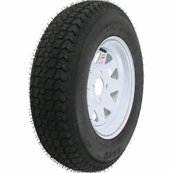 Loadstar St Radial Tire And Wheel Rim Assembly St205/75r-15 5 Hole C Ply