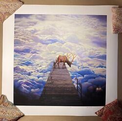 Chengxiang Shang Lost Print Signed Numbered X/60 Sold Out Poster Borderline