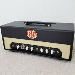 2013 65 Amps Soho Red Line Handwired Boutique Usa Tube Amp Guitar Amplifier Head