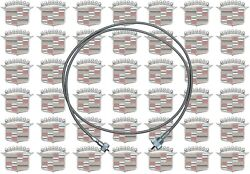 1956-1976 Cadillac Speedometer Cable And Correct Armored Case