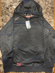 Nike Lebron James Signature Collection Pull Over Hoodie _ Size L _ Read Desc