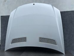 ✔mercedes W221 W216 S350 S550 S400 S600 S63 Front Hood Panel Cover Silver Oem
