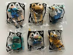 Mcdonaldand039s Happy Meal Toys Adventure Time Complete Set - Sealed And Brand New