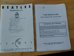 The Beatles Memorabilia Book Issued 1995 By Tracks Autographs Values Etc