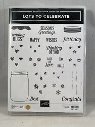 Lots To Celebrate Stamp Set Stampin Up New Jar Hearts Birthday Live Congrats