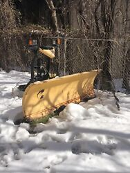 Fischer Snow Plow 86andrdquo Fully Equipped With All Mounting Gear