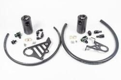 Engine Oil Catch Can Kit-dual Catch Can Kit Radium Engineering 20-0328