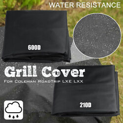 Black Grill Cover Outdoor Uv Protection Waterproof For Coleman Roadtrip Lxe Lxx