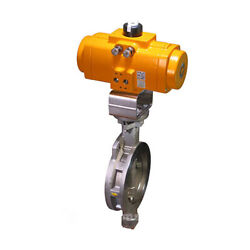 Assured Automation Jhpw13rf6so High Performance Butterfly Valve Mfgd