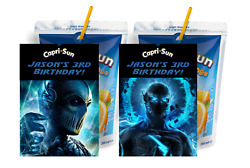 Zoom From The Flash Capri Sun Suns Juice Labels Birthday Party Favors Supplies