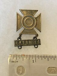 Authentic Wwii Us Army Usmc Carbine Sharpshooter Qualification Badge