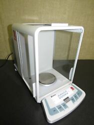 Ohaus Discovery Dv214c Analytical Balance Scale Weight Verified - Great Shape