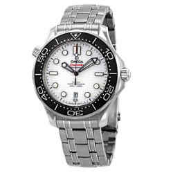 Omega Seamaster White Dial Menand039s Watch 210.30.42.20.04.001