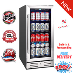 Kalamera 15 Beverage Cooler 96 Can Built-in Or Freestanding Touch Control⭐⭐⭐⭐⭐