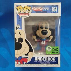Eccc 2021 Official Funko Pop Animation The Underdog Figure