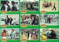 Grease The Movie - Series 2 - Complete 66 Trading Card Set - 1978 Topps - Nm