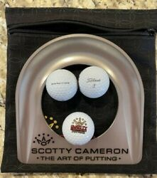 Scotty Cameron Putting Cup Kit - 7 Point Crown - Gold 2021 Mardi Gras Release