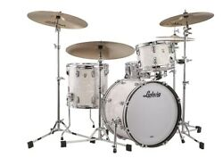 Ludwig Classic Maple White Marine Pro Beat 14x24_9x13_16x16 Drums Auth Dealer