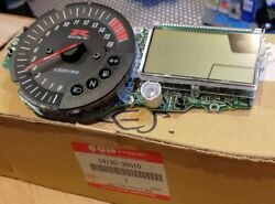 Genuine Suzuki 34120-30g10-000 Dash Clock Speedo Tacho Assy Mile Gsxr 750 K4 K5