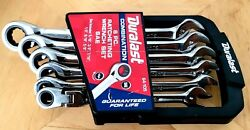 Duralast | 6 Pc Combination Ratchet Wrench Set Sae 64-105 Fast Shipping