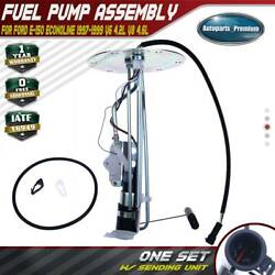 Fuel Pump Hanger Assembly For Ford E-150 Econoline 4.2l 1997-1998 W/ 3 Tube Rear