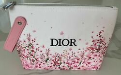 MISS DIOR PINK BAG COSMETIC MAKEUP FLORAL JUST REALEASED FOR SPRING NEW IN BOX $29.99