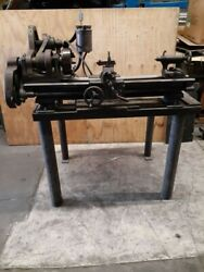 Classic Vintage Antique South Bend 9 Lathe, 3 1/2 Bed With Stand