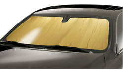 Custom-fit Roll-up Gold Sunshade By Introtech Fits Mercedes Clk Class 03-10 320/