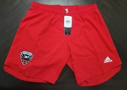 Dc United Red Shorts Adidas Authentic Aeroready Mls Soccer Us Men's Xl
