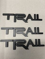 3x. Toyota 4runner Trail Badge Side Quarter Emblem