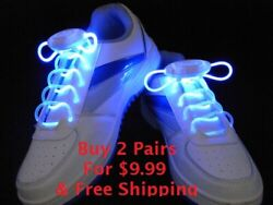 Birthday Gift Tennis Shoe Lace Led Light Up Party Dance Buy 2 Get 1free 🇱🇷✈