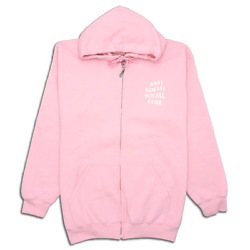 Antisocial Social Club Know You Better Zip Up Hoodie Assw368 Menand039s Size S-xl