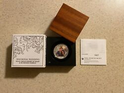 2018 Royal Wedding Henry/ms. Meghan Markle 1oz 1 Silver Proof Coin