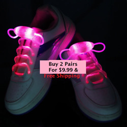 Buy 2 Get 1free 🎁 Birthday Gift Tennis Shoe Lace Led Light Up Party Dance✈🇱🇷