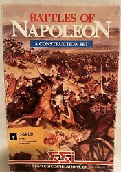 Battles Of Napoleon A Construction Set Commodore 64 Computer Game Complete