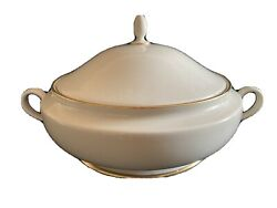 lenox Presidential Mansfield Large Round Covered Serving Dish