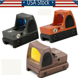 Us New Rmr 3.25 Moa Red Dot Sight Reflex Holographic Scope 45mm Glock Mount Home