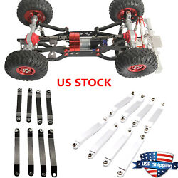 Rc Car Metal Ball Joints Tie Rod Diy For 1/12 Mn D90 D91 Mn96 Mn99 Mn99s Model