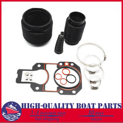 Exhaust Shift Cable Bellows Kit For Mercruiser Alpha One Gen 2 Drives W/ Gasket