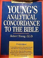 Young's Analytical Concordance To Bible Corrected And By Robert Young Excellent