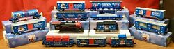 Mth Railking 30-4173-0 Rudolph The Red Nose Reindeer Set + Add On Cars Complete