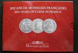 France 5 Francs 3 Coins Set 2000 Years Of French Coinage Series Ii Rare